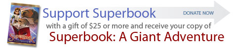 advertisement for Superbook